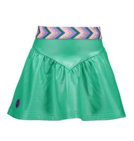 B-nosy Girls coated skirt with elastic