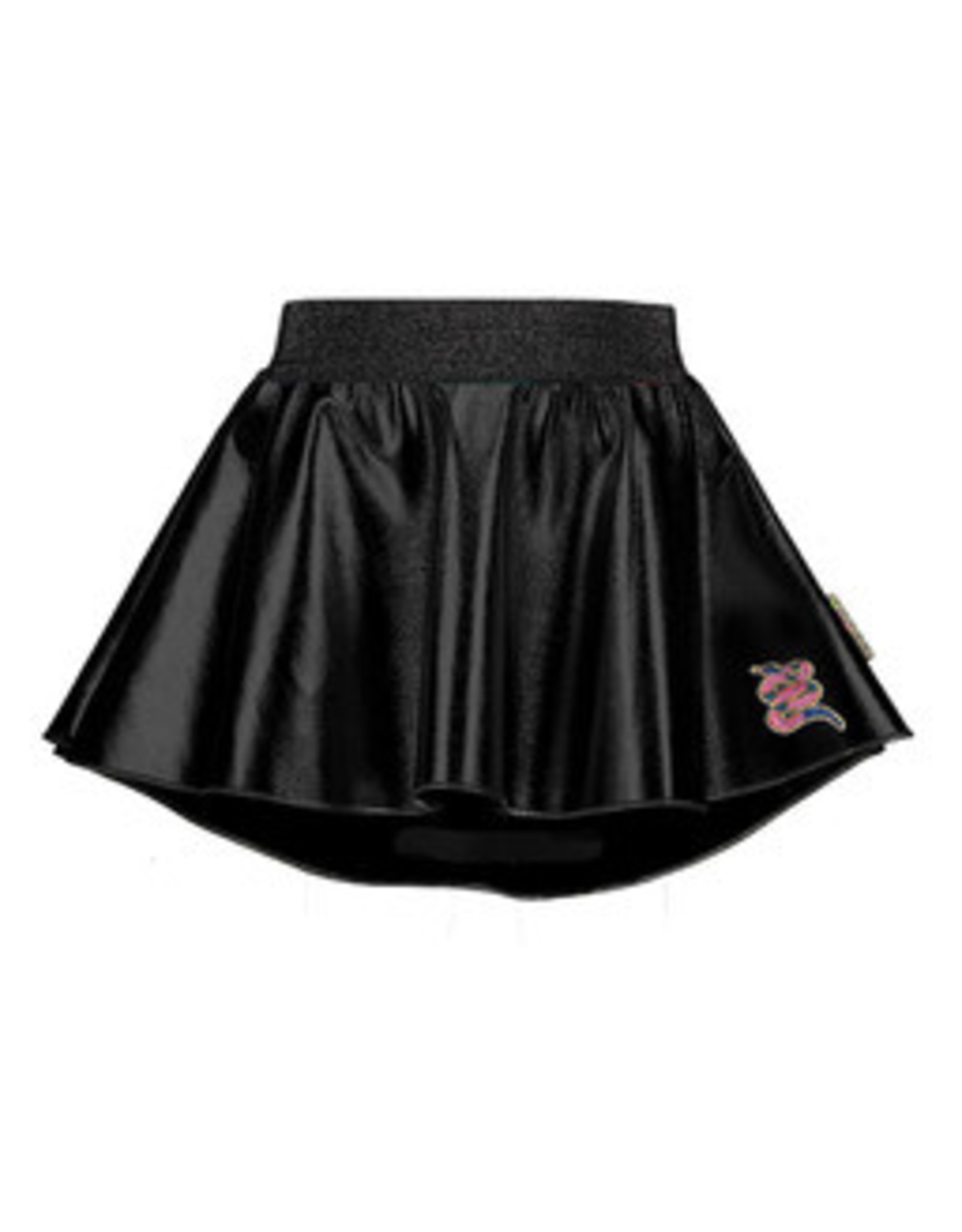 B-nosy Girls coated leather skirt with longer back maat 92