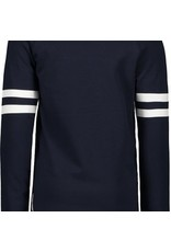 B-nosy Boys ls. Raglan shirt with contrast stroke on chest