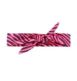 B-nosy Girls glitter zebra hairband