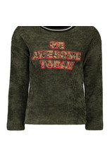 Like Flo Flo girls chenille sweater