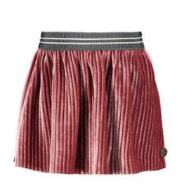 Like Flo Flo baby girls rib velours skirt