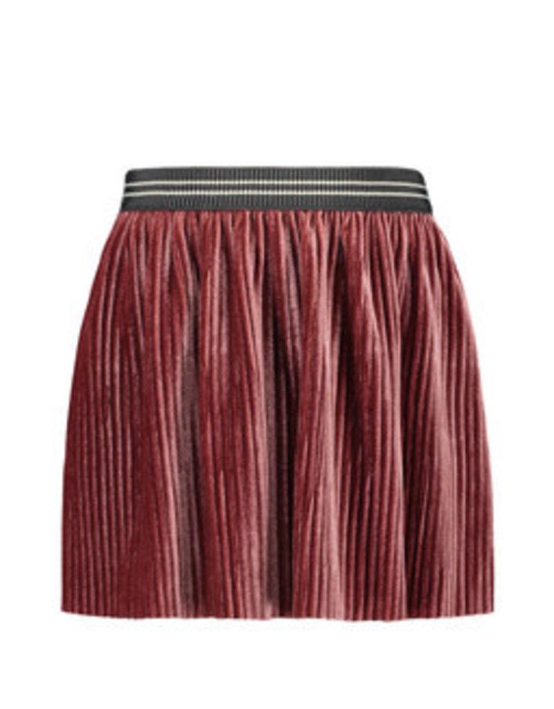 Like Flo Flo girls rib velours skirt