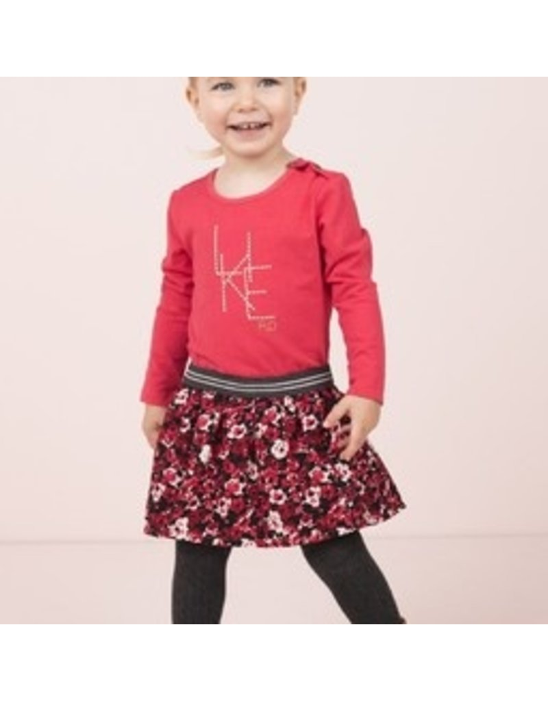 Like Flo Flo baby girls jersey dress with flower skirt