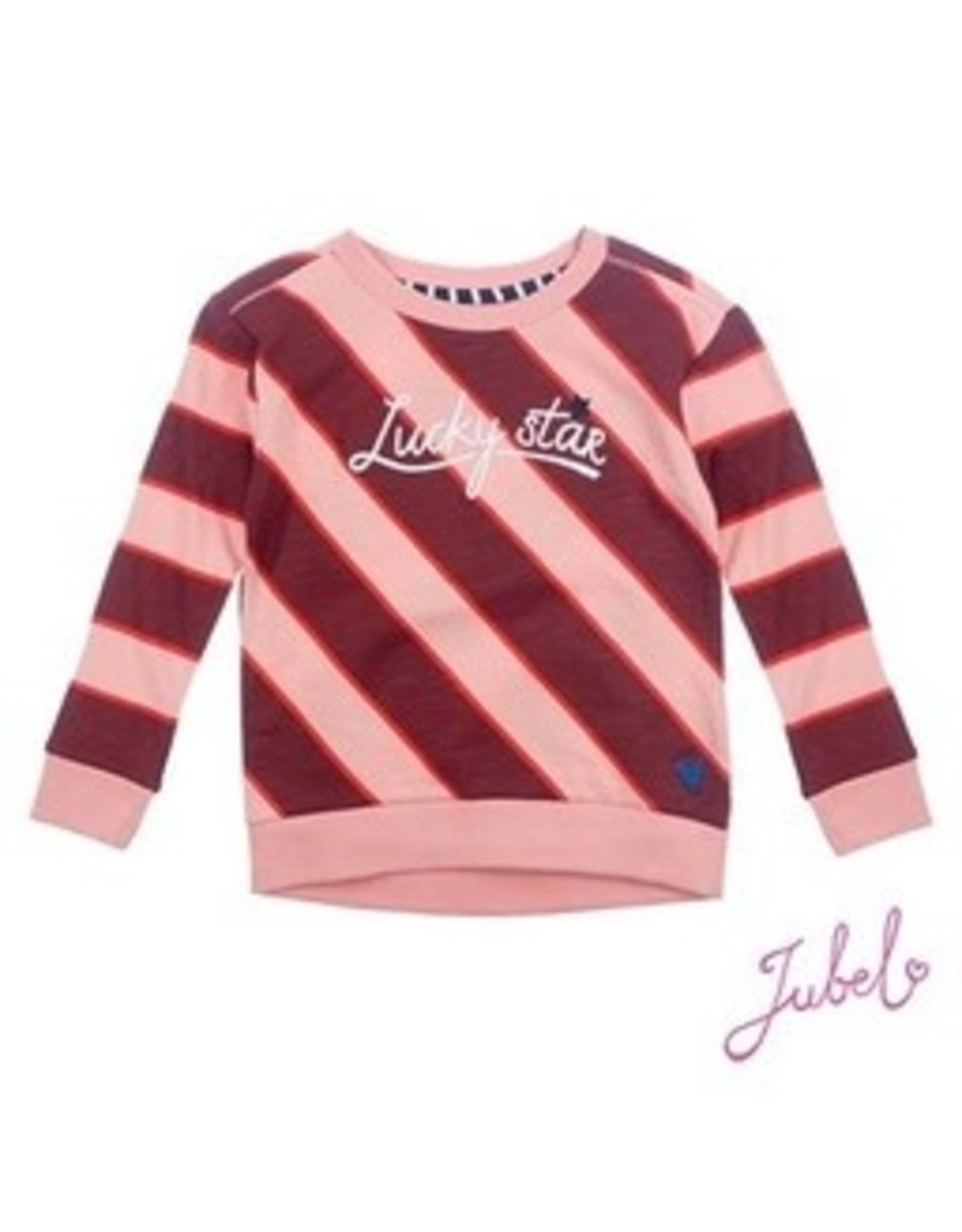 Jubel Sweater streep - Lucky Star maat 128