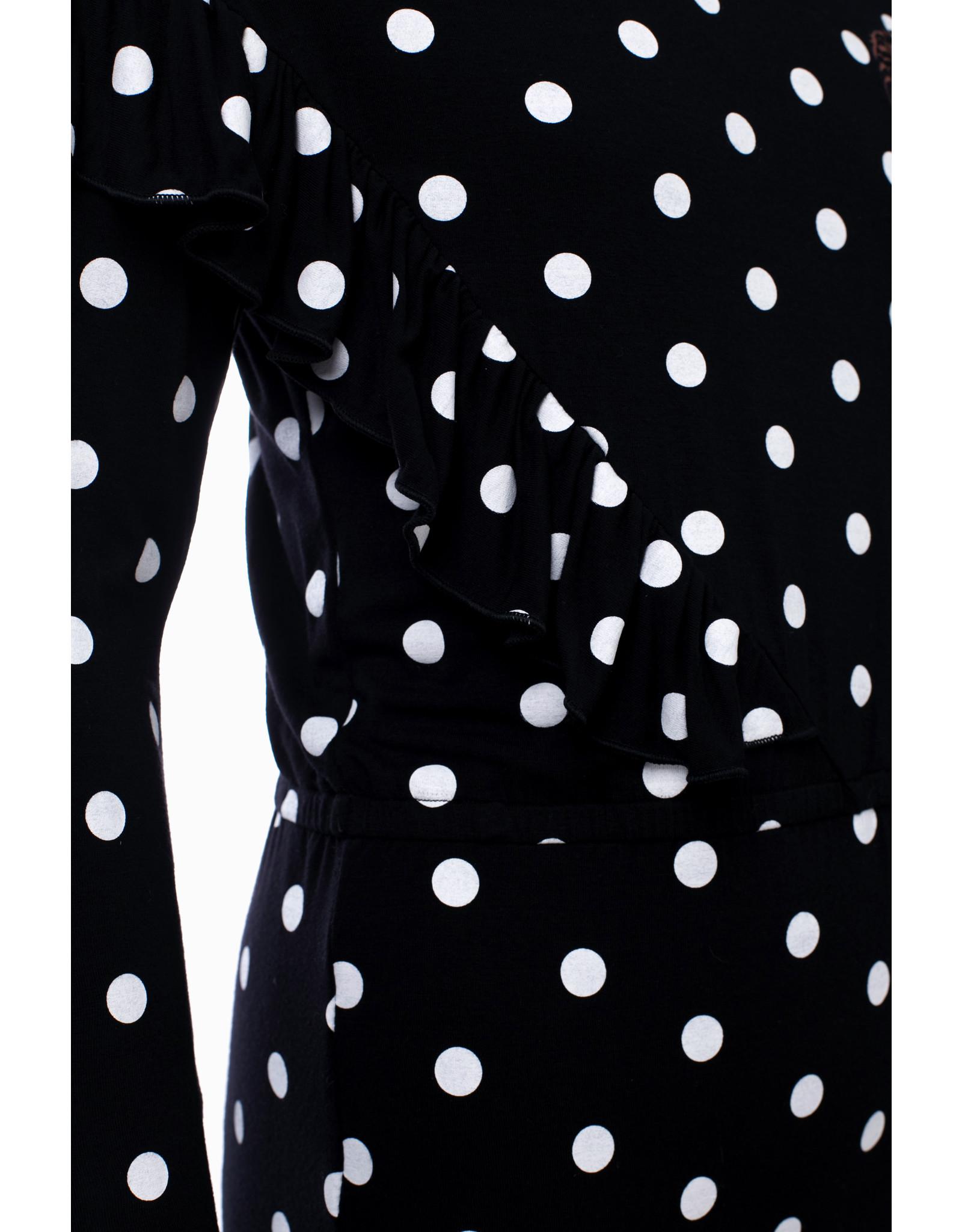 Looxs Revolution Girls L.Sleeve wrap dress