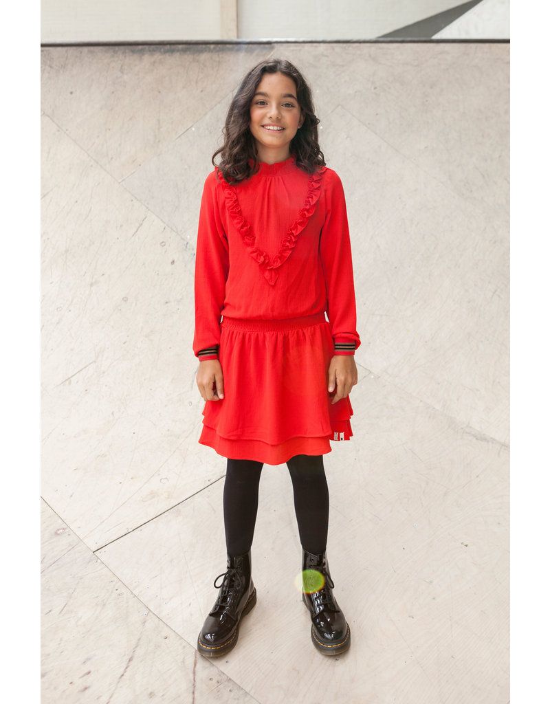 Looxs Revolution Girls fancy chiffon dress