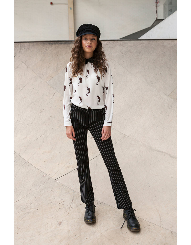 Looxs Revolution Girls blouse with velvet