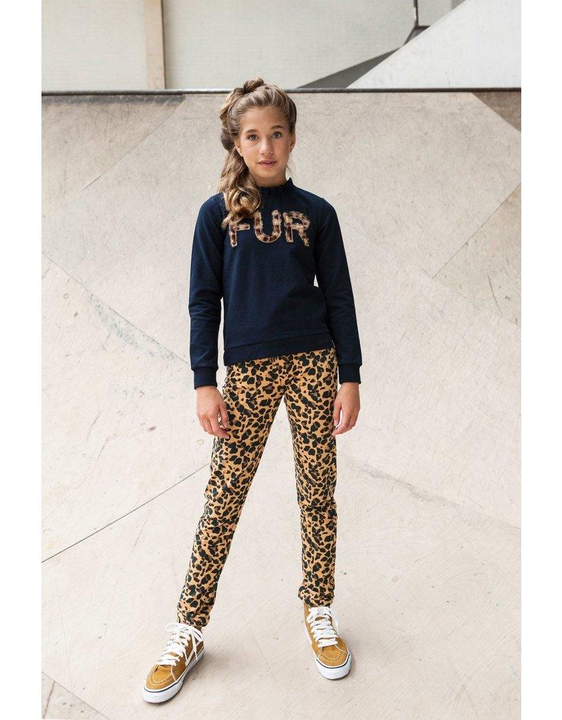 Looxs Revolution Girls sweater with collar