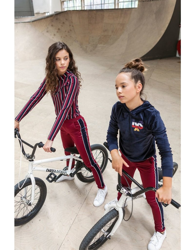 Looxs Revolution Girls velours hoody sweat