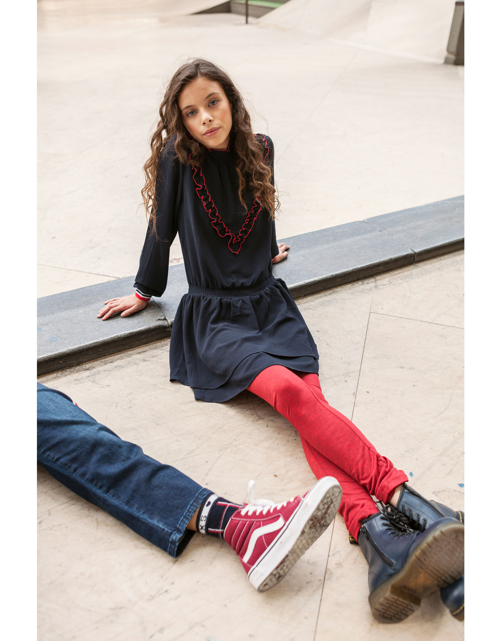 Looxs Revolution Girls sporty legging maat 164