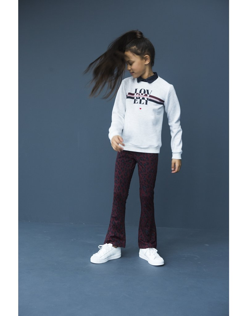 Looxs Revolution Girls sweater with woven