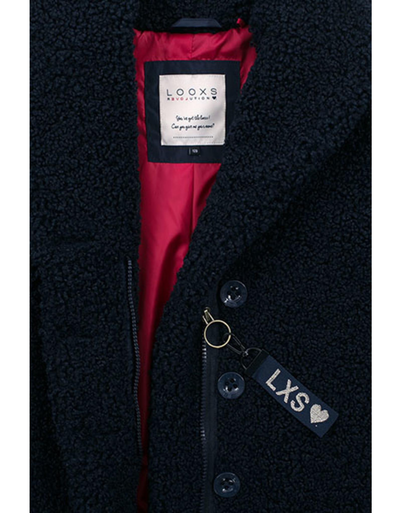 Looxs Revolution Girls Oversized Teddy Coa
