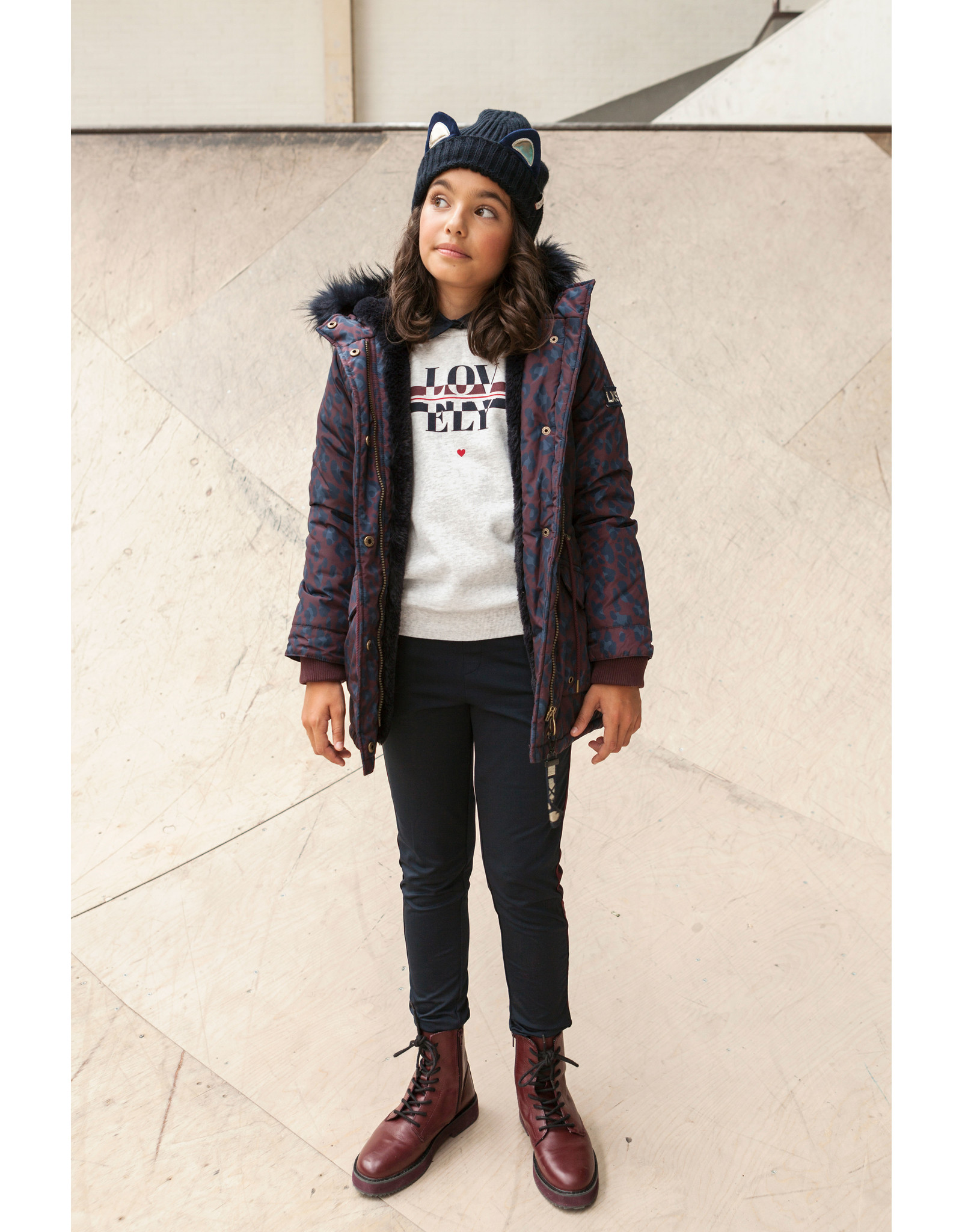 Looxs Revolution Girls Parka with hood and
