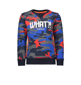 Tygo & Vito T&v  sweater AOP CAMOUFLAGE WHAT?