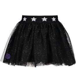 B-nosy Girls glitter netting skirt