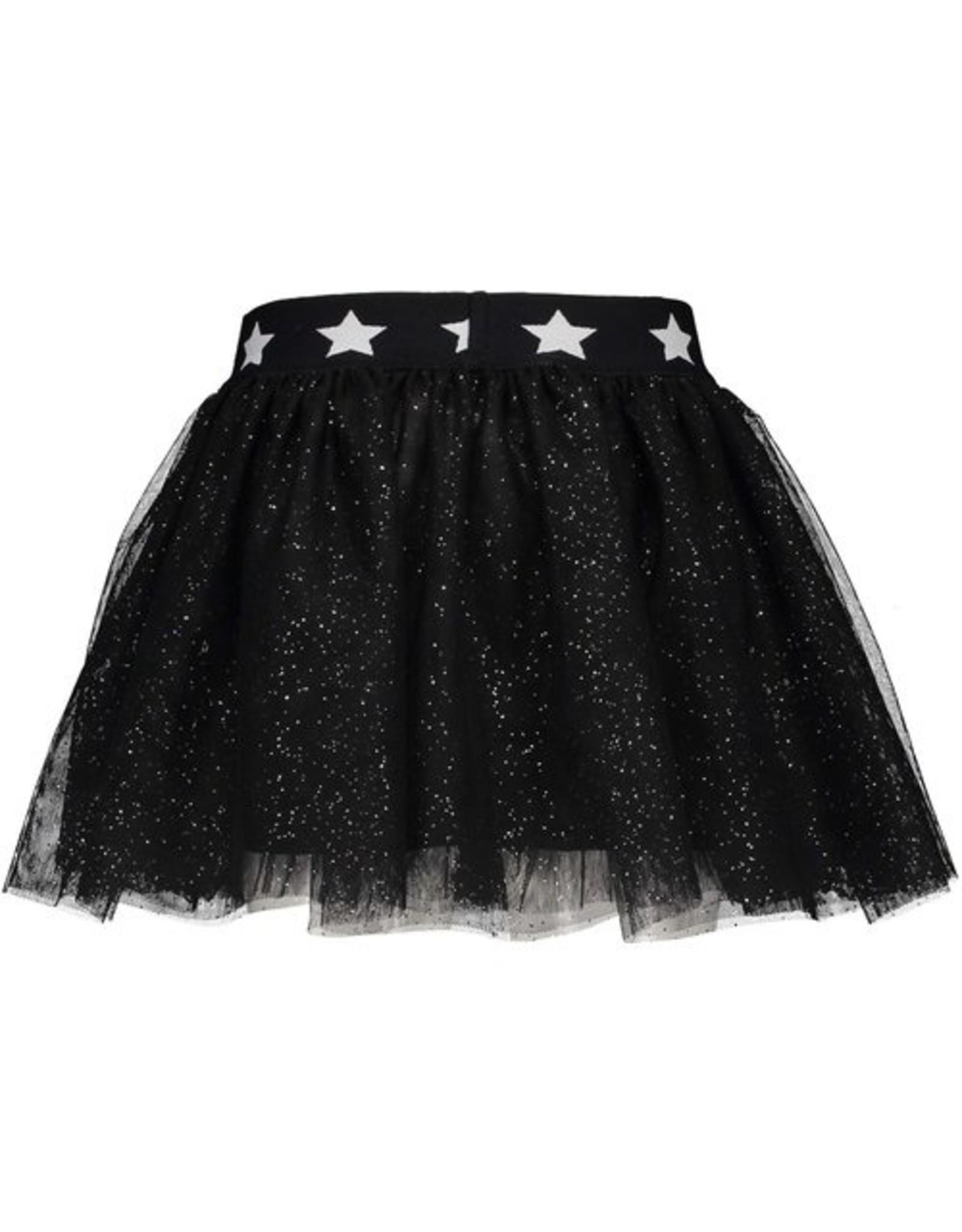 B.Nosy Girls glitter netting skirt