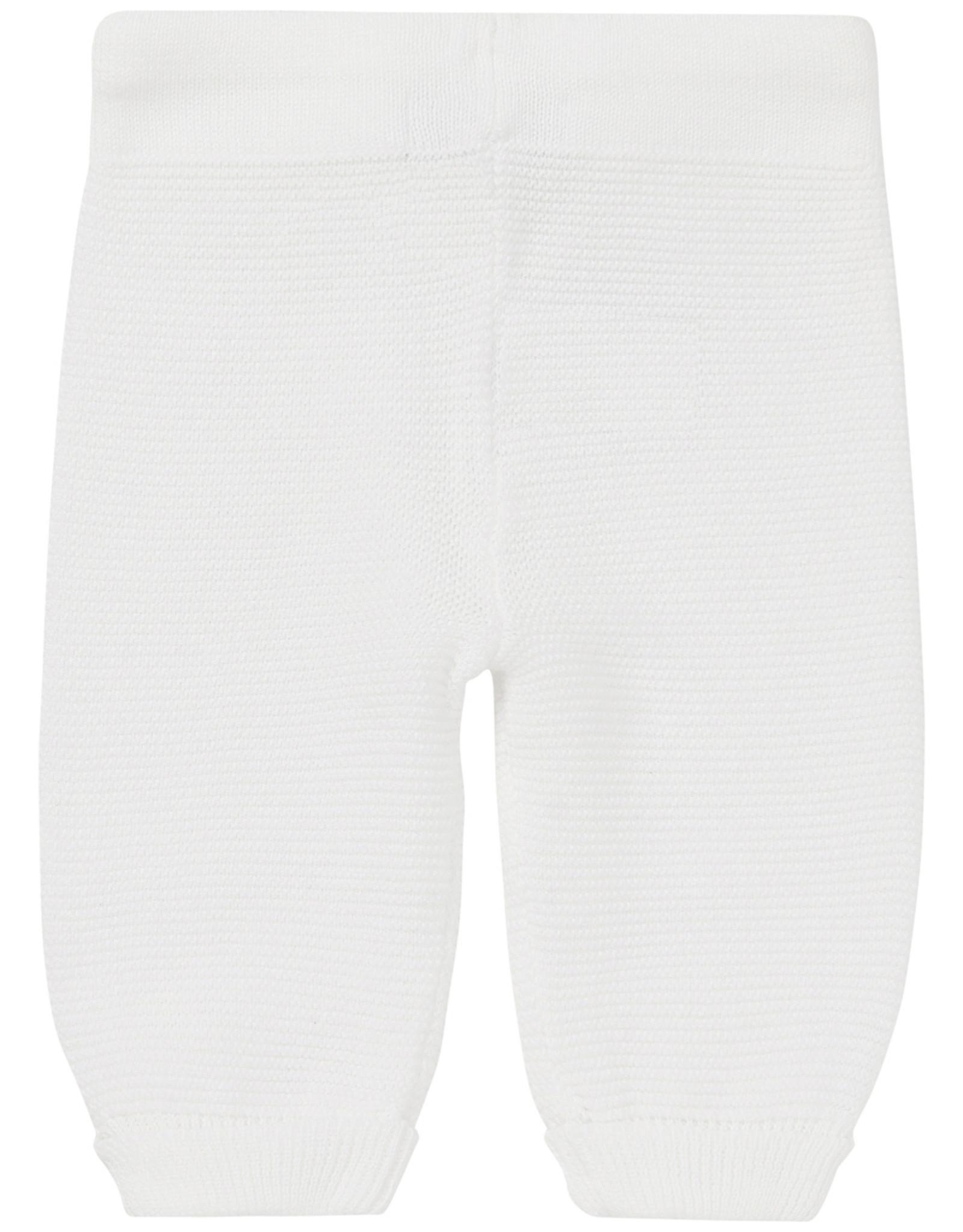 Noppies U Pants Knit Reg Grover white