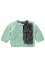 Noppies U Cardigan Knit ls Lou grey mint
