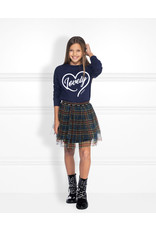 NIK & NIK Girls Skirt Iris Color: dark blue