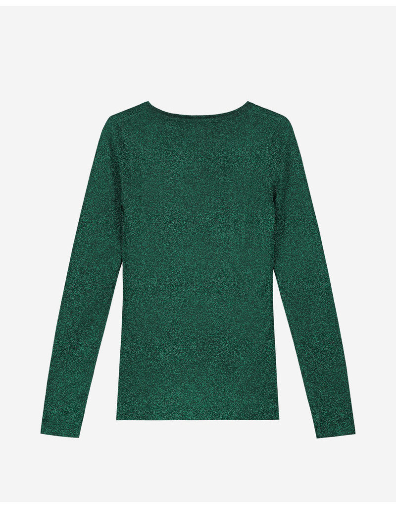 NIK & NIK Girls Cluless Pullover Color: dark green