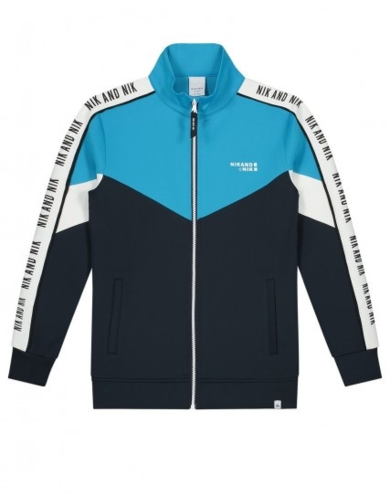 NIK & NIK Boys Track Jacket Almo  Color: dark blue