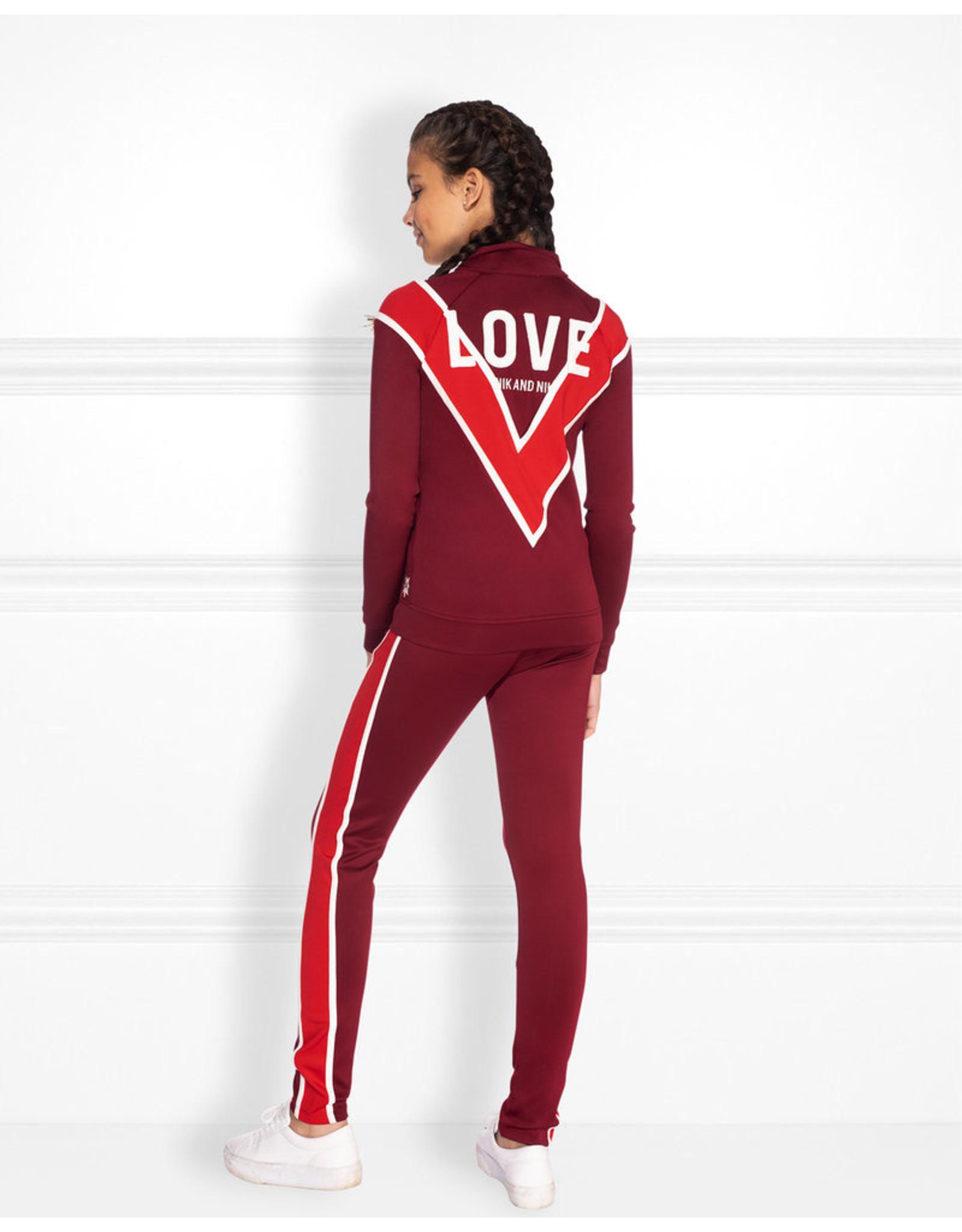 NIK & NIK Girls Love Trackjacket maat 176