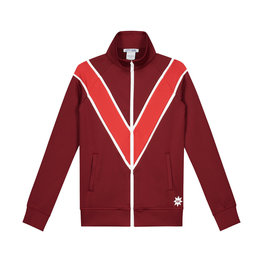 NIK & NIK Girls Love Trackjacket Color: deep red