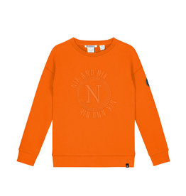 NIK & NIK Boys Abel Sweater Color: carrot orange