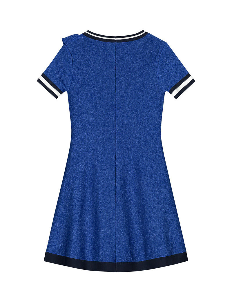 NIK & NIK Girls Dress Rachella Jintha Color: river blue