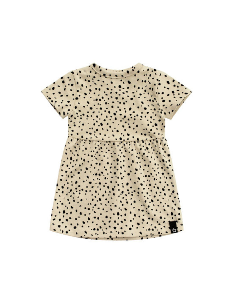 Your Wishes Cheetah - Nude | Pleated Dress