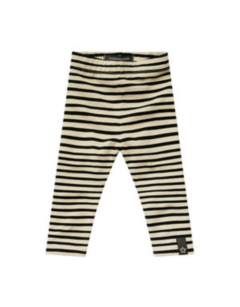 Your Wishes Stripes - Nude | Legging