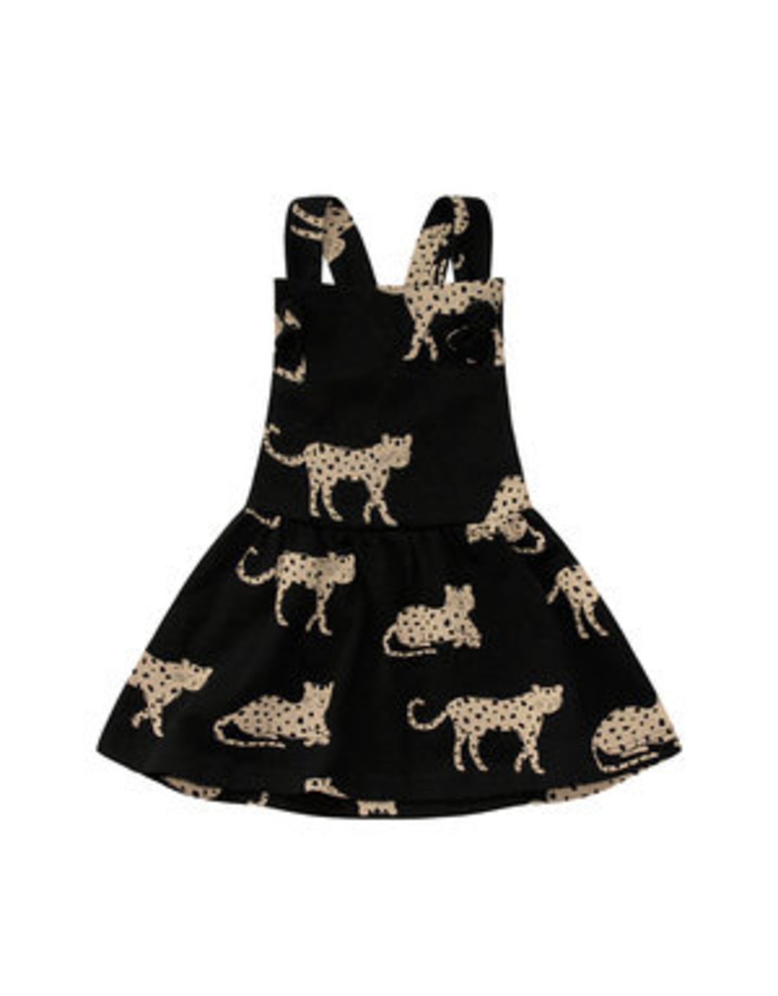 Your Wishes Wild Cheetahs | Dungaree Dress