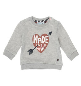 Feetje Sweater Made With Love -  Made With Love