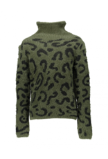 Geisha Sweater army/black