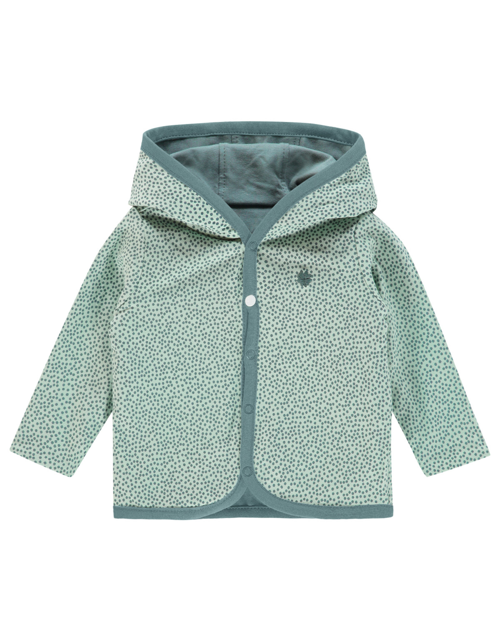 Noppies U Cardigan rev Haye grey mint