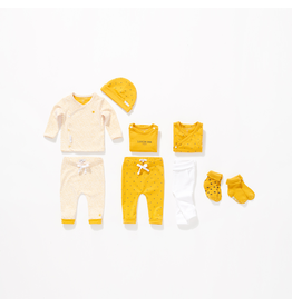 Noppies U Pants Jersey loose Kirsten aop honey yellow