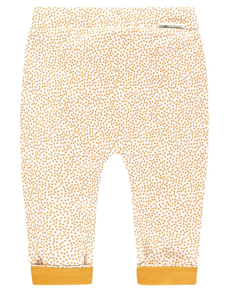 Noppies U Pants Jersey loose Kirsten aop honey yellow