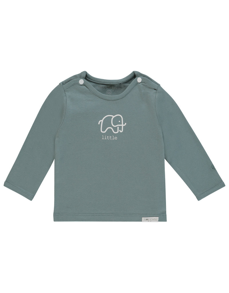 Noppies U Tee ls Amanda elephant dark green