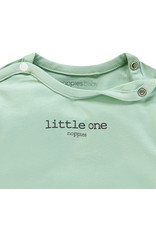 Noppies U Tee ls Hester text grey mint