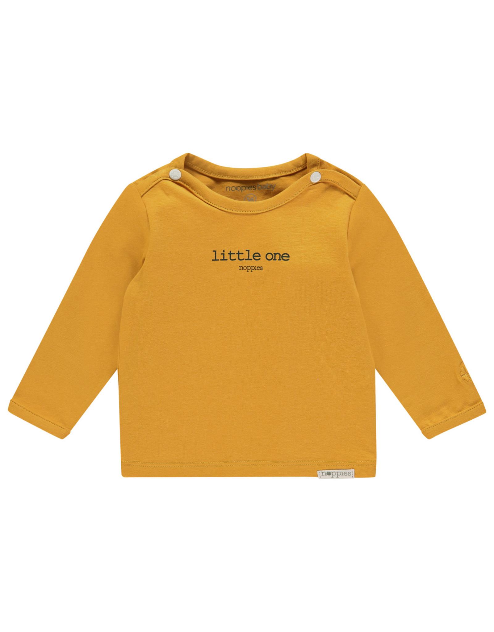 Noppies U Tee ls Hester text honey yellow