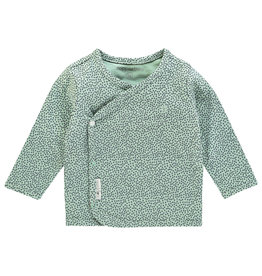 Noppies U Tee ls Hannah aop grey mint