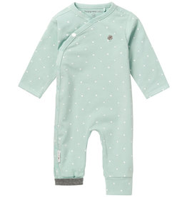 Noppies U Playsuit jrsy Lou AOP grey mint
