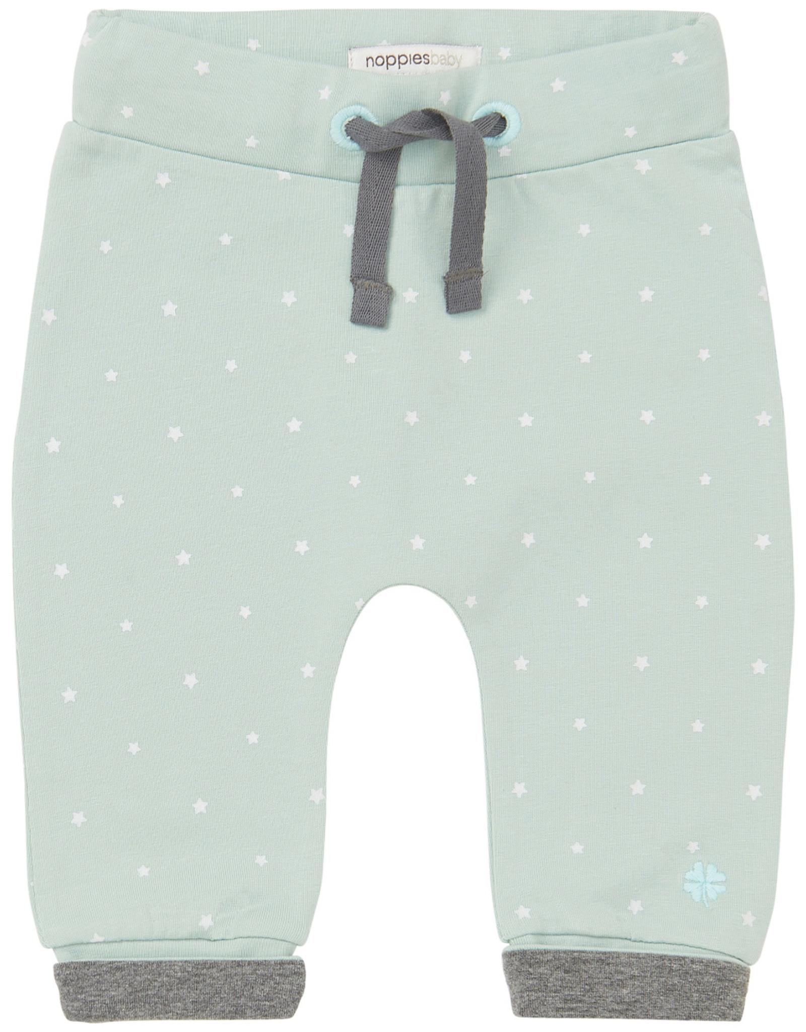 Noppies U Pants jrsy comfort Bo grey mint