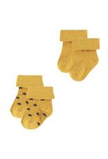 Noppies U Socks 2 pck Levi Stars honey yellow