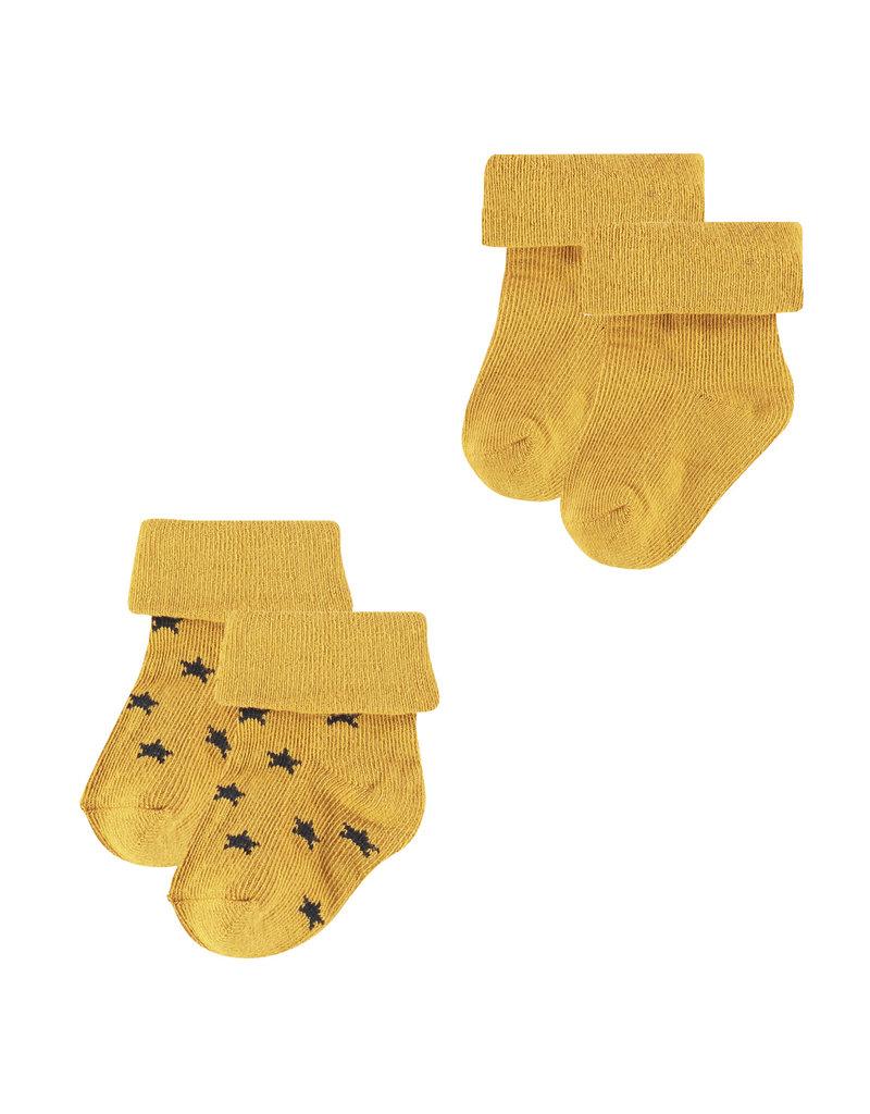 Noppies U Socks 2 pck Levi Stars honey yellow
