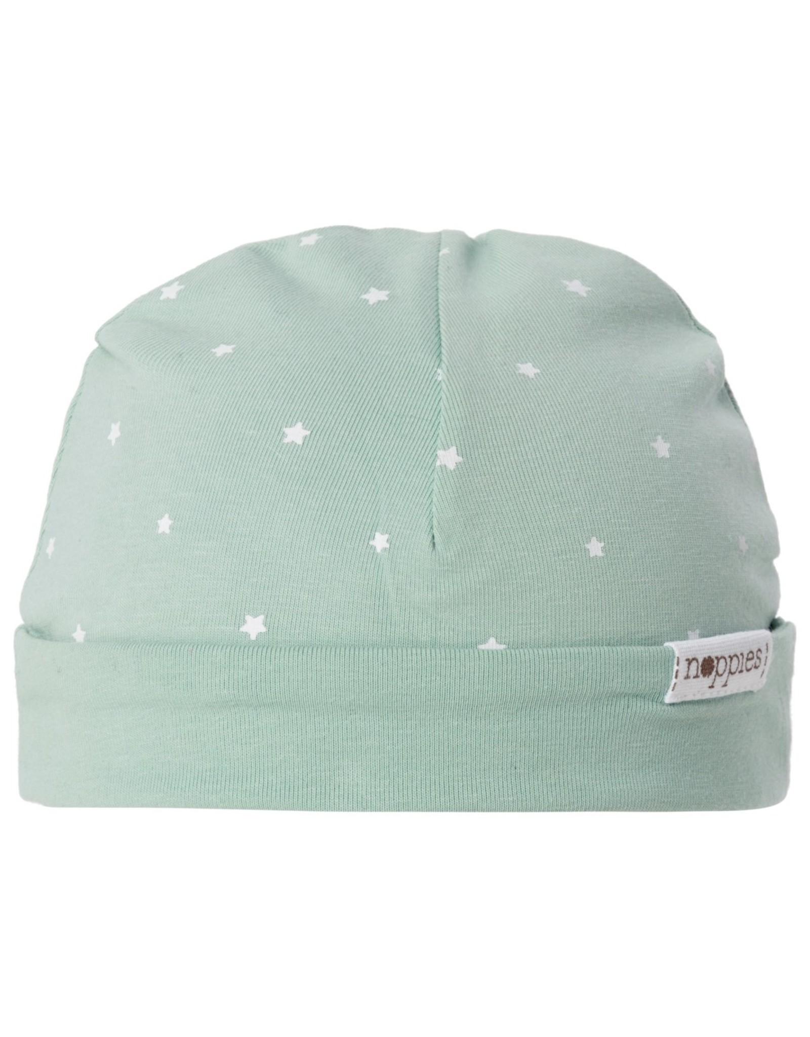 Noppies U Hat REV Dani AOP grey mint