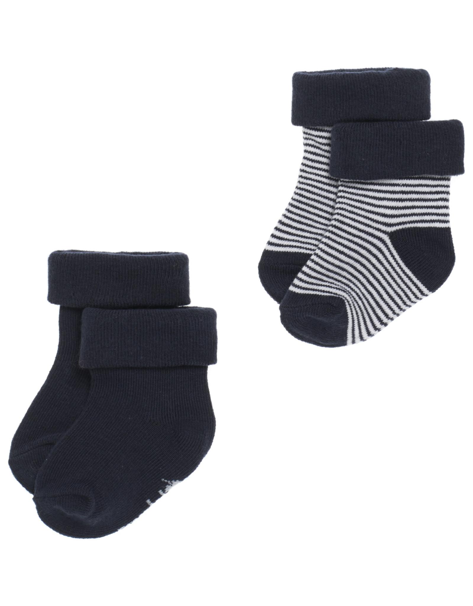 Noppies B Socks 2pck Guzz navy