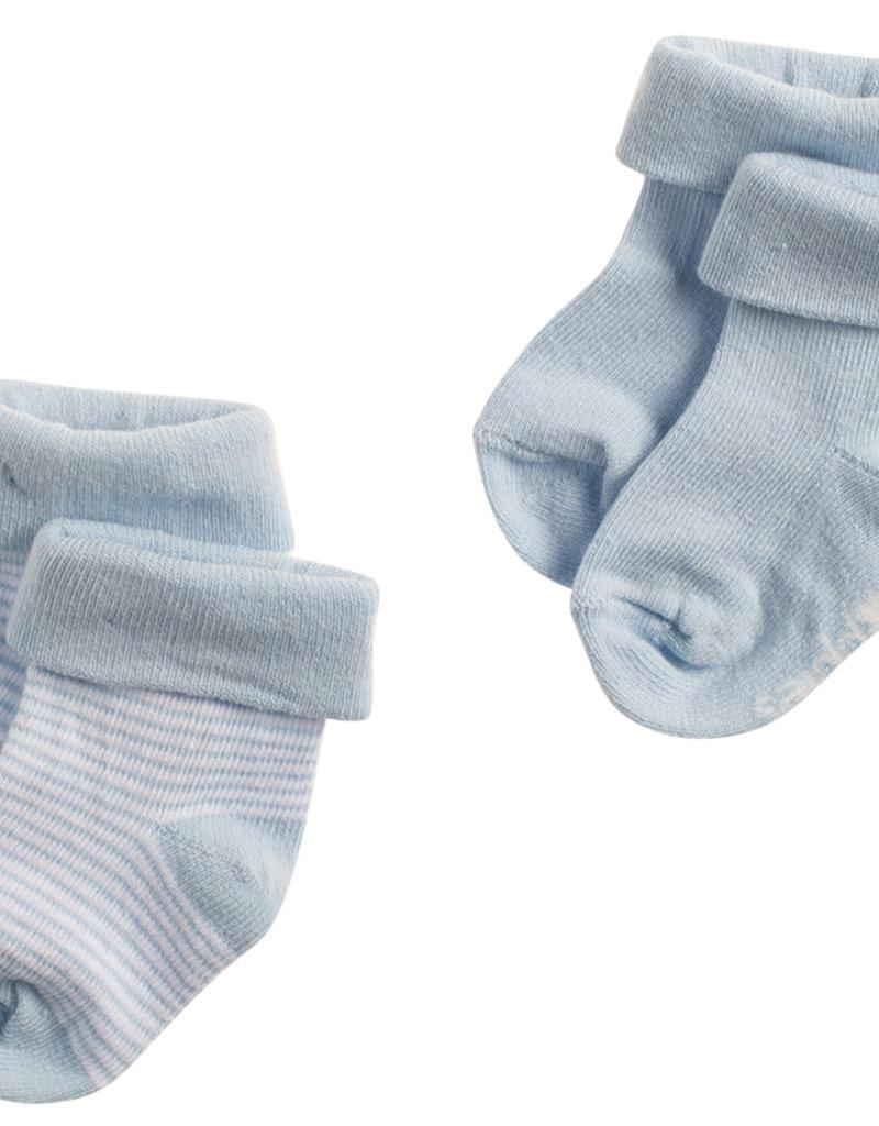 Noppies B Socks 2pck Guzz light blue