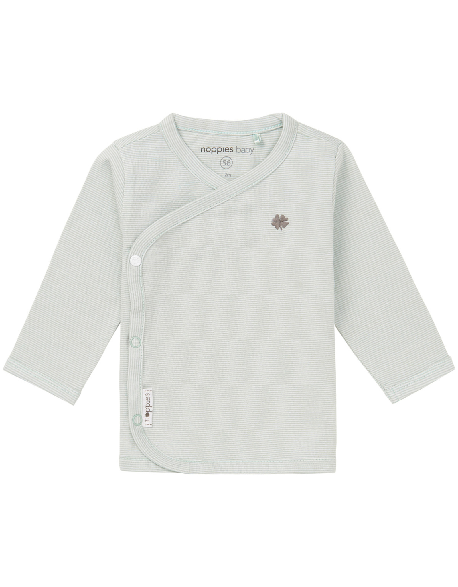Noppies U Tee ls Soly yd grey mint